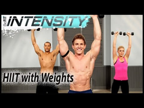 BeFiT Intensity: HIIT with Weights Workout- Scott Herman