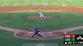 Legends pitcher Tillo makes quick catch