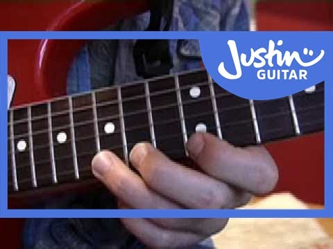 How to Play Rock Guitar Licks For Beginners (Fast) - Guitar Lesson - JustinGuitar [RO-003]