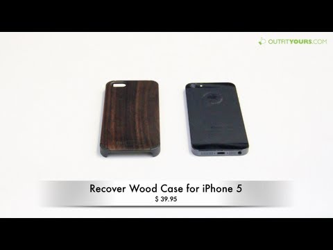 Recover Wood Case for iPhone 5S and iPhone 5 Review