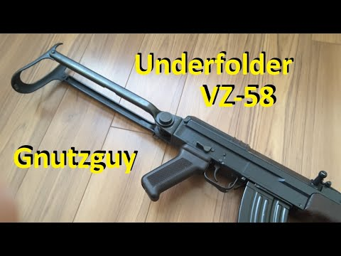 A Rare Look At VZ58 Underfolder AK47 Folder Modified VZ 58