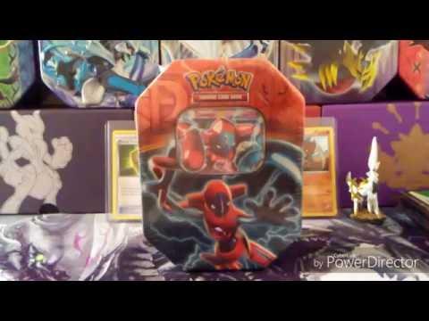 Pokémon Black & White Deoxys EX Tin