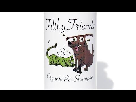 Filthy Friends Dog Shampoo - Cat flea shampoo - Safe & Effective