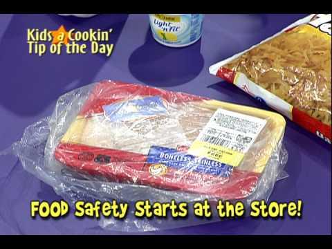La Seguridad de la Comida Comienza en la Tienda