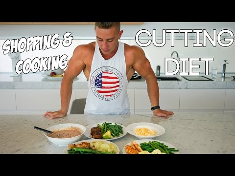 Zac Perna- Cutting Diet | Shopping and Cooking