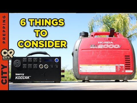 Solar vs Gas generator for SHTF: which is better?