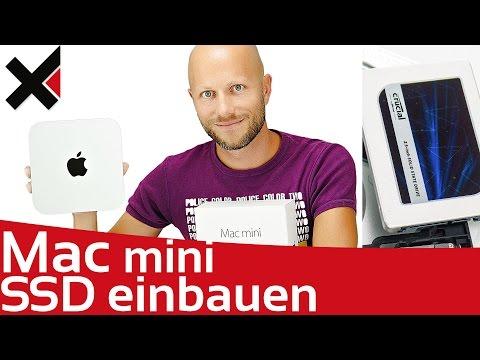 Apple Mac Mini SSD einbauen | Festplatte tauschen Tutorial deutsch | iDomiX