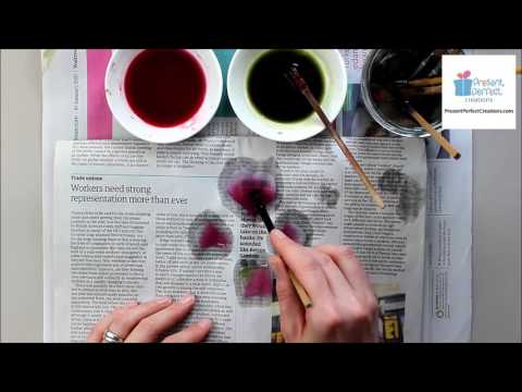 Silk Sweet Pea Brooch Tutorial video