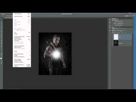 Photoshop Tutorial: Adding a Light Source.mov