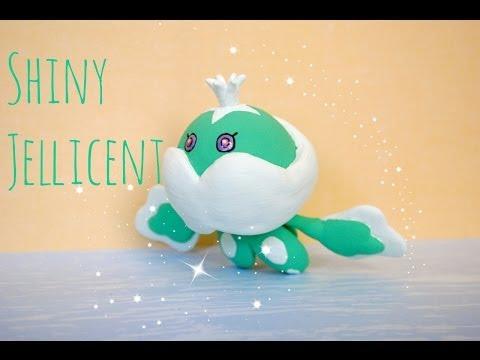 Jellicent Pokemon (SHINY)- Polymer Clay-  ブルンゲル