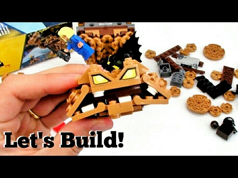 THE LEGO BATMAN MOVIE: Clayface Splat Attack 70904 - Let's Build!