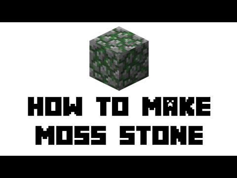 Minecraft Survival: How to Make Moss Stone