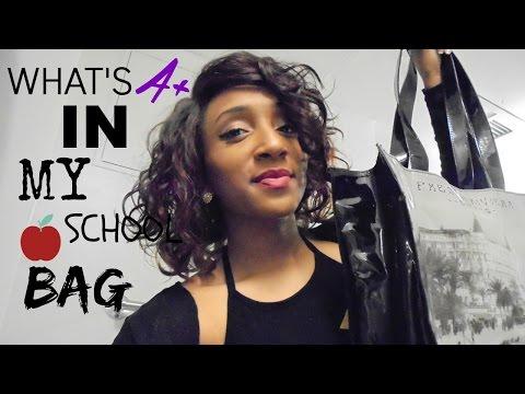 What's In My School Bag 2015 +Tips & Essentials!