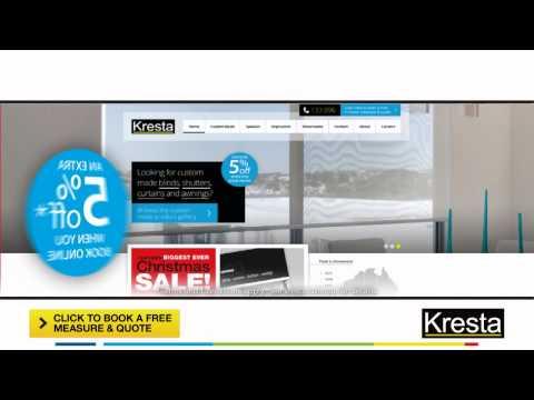 Kresta Australia's Biggest Xmas Sale with 5% book online