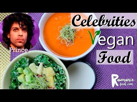 CELEBRITIES VEGAN FOOD | Prince Last Meal | VEGAN RECIPE