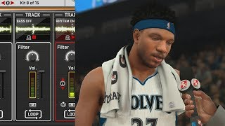NBA 2K18 My Career - Making Music in the Studio! PS4 Pro 4K Gameplay