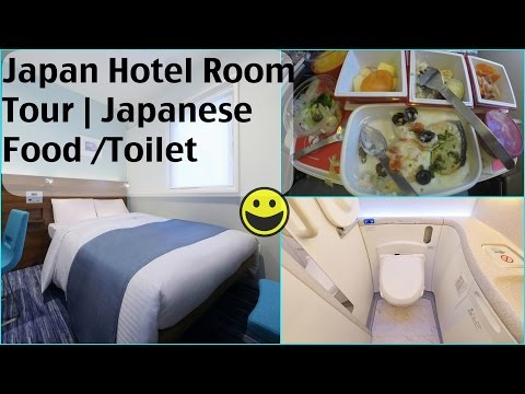 Japan Vlog Hotel Room Tour |  Presso Inn Akasaka | Tokyo Japanese Food And Toilet | SuperPrincessjo
