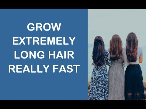 Grow Extremely Long Hair Really Fast (Subliminal)