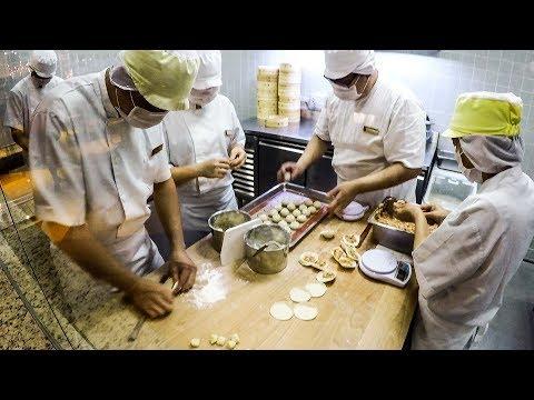 Preparing Dumplings in a Michelin Starred Restaurant in Singapore