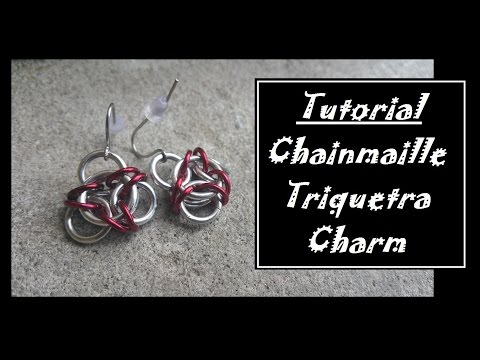 How to Celtic Chainmaille Earrings