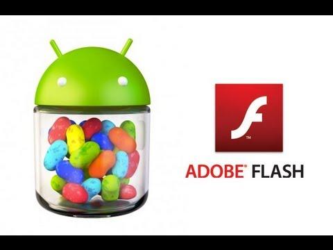 Instalar Flash Player en Android 4.0 / 4.1 / 4.2. / 4.3 Español