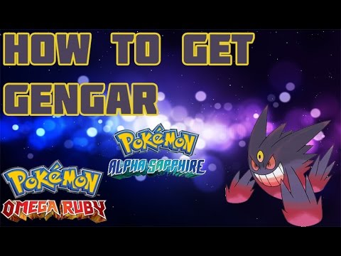 How to get Gengarite in ORAS - Mega Stone Location Guide