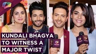 Kundali Bhagya's Cast Talk About The Major Wedding Twist | Dheeraj, Shradha, Anjum & Sanjay