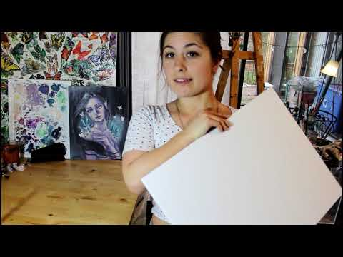 How to Smooth a Canvas Surface with Gesso & Sandpaper