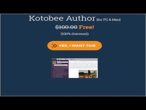 Free Kotobee Author [for PC & Mac] 2017_(discount %100)
