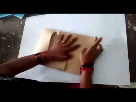 How to make perfect square bottom paper bags