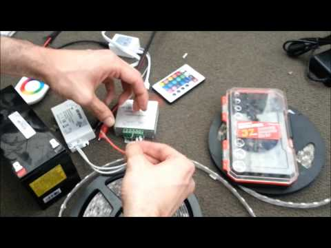 LED Strip & RGB Controller Installation Guide DIY Help