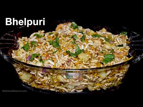 Bhel Puri Recipe - How To Make Bhel Puri at Home - Spicy Bhel Puri Special Ramadan Recipe