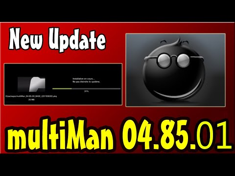 PS3 New Update multiMAN v04.82.00  For CFW 4.82 CEX
