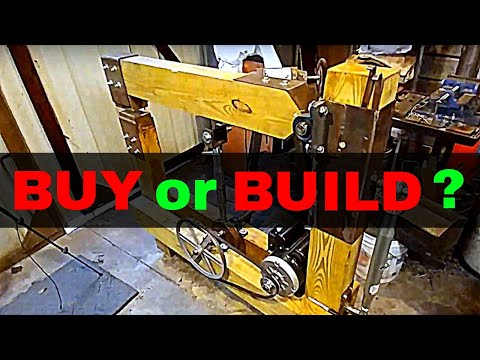 Should you BUY a power hammer or BUILD one?