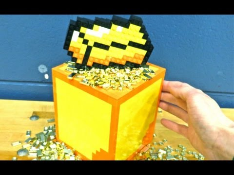 LEGO Gold Block - Minecraft