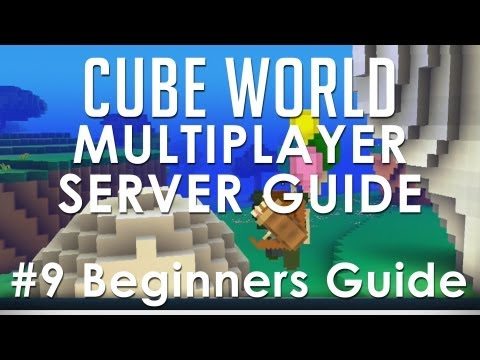 Cube World - How to Setup a Multiplayer Server (Beginners Guide 9)