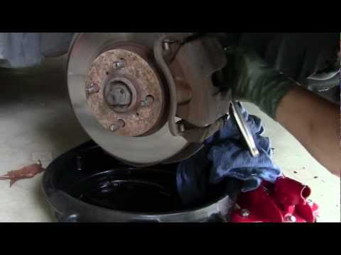 How To Change Front Brakes - 96 Toyota Corolla
