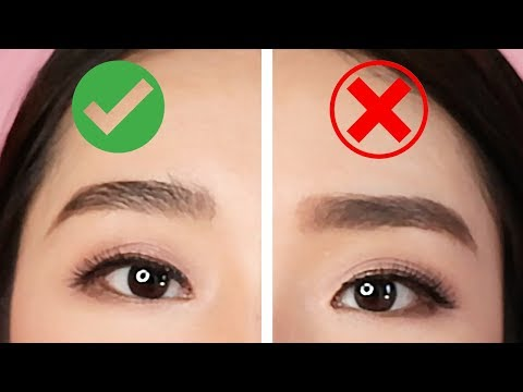 EYEBROWS DOS AND DON'TS : MISTAKES TO AVOID | MONGABONG