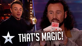 Magician TURNS BACK TIME!   Unforgettable Audition   Britain's Got Talent