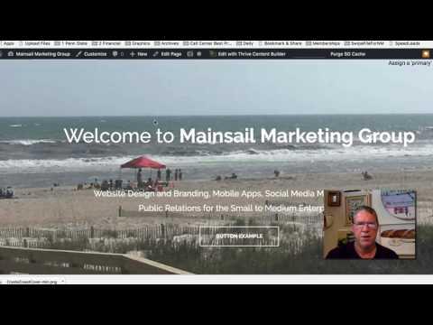 Customizing Your Thrive Theme Homepage in Wordpress