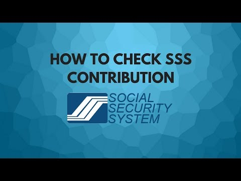 How to Check SSS Contribution