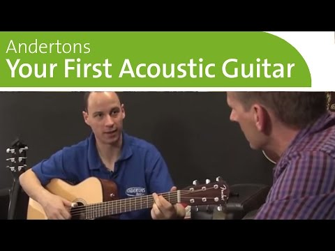 Buying Your First Acoustic Guitar - Beginners Acoustic Guitar