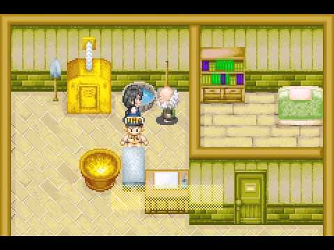 Harvest Moon : Friends Of Mineral Town :Mary Rival Event 1