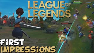 """League Of Legends First Impressions """"Is It Worth Playing?"""""""