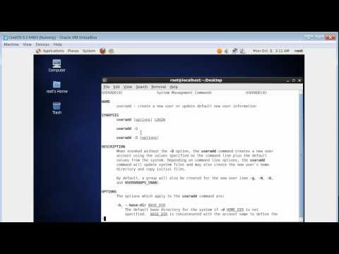 User And Group Administration On Linux Part 1 of 4