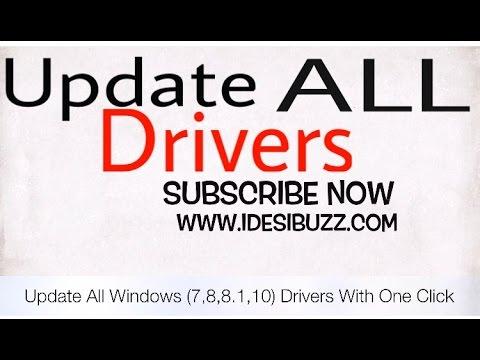 How to Update Drivers for Windows 10, Windows 8.1, Windows 8, Windows 7