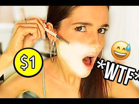 SHAVING MY FACE WITH *$1* FACE RAZOR