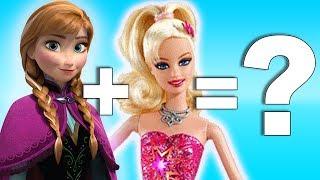 Disney Princesses + Barbie = ???