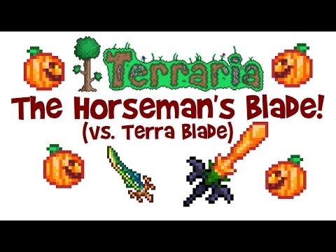 Terraria Sword: THE HORSEMAN'S BLADE! (vs Terra Blade, Statue Trick & Guide, PC/Console/Mobile)