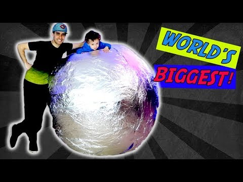 ULTIMATE Foil Ball Challenge (DEFINITELY CLICKBAIT)